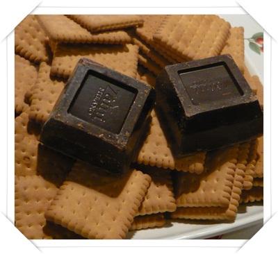 Biscotti e cioccolato