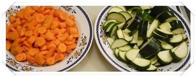 Carota e zucchina