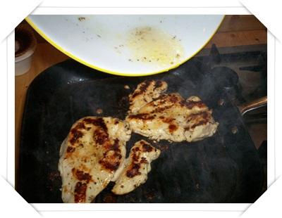 Cottura del pollo