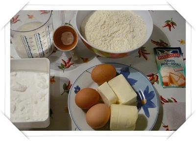 Ingredienti per muffin