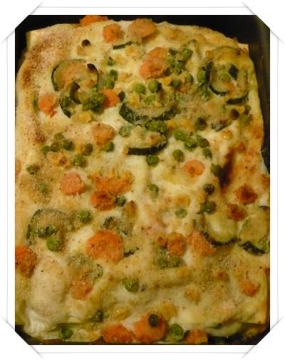 Primo piatto: Lasagne vegetariane al forno