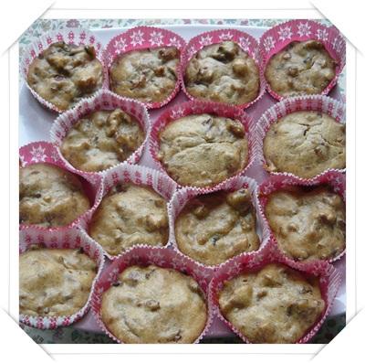 Muffin salati funghi e salsiccia