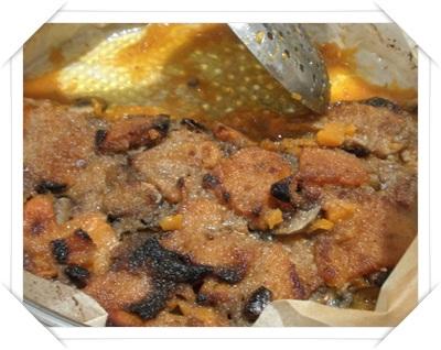 Piatto unico: zucca e funghi al forno
