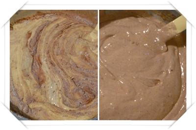 Impasto pan di spagna cacao